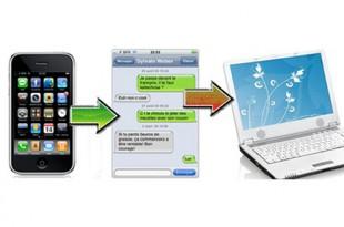 salvare sms iphone