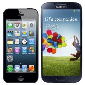 iphone 5c contro samsung S IV