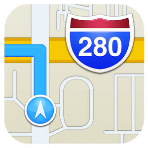 mappe-apple-icona