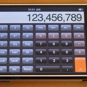 Utilizzare il nostro iPhone come calcolatrice scientifica