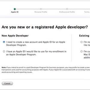 Come funziona il programma per sviluppatori Apple?