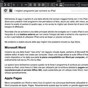 Le migliori app per scrivere da iPad