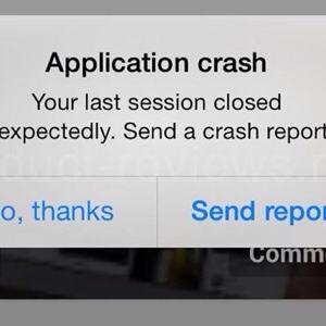 App che crashano, come risolvere il problema