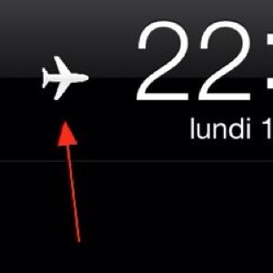 La modalità aereo sui dispositivi iOS