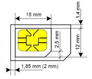 microsim iphone 6
