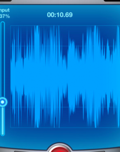 sound recording iPhone