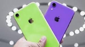 iphone xr 2019 verde e viola