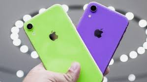 iphone xr 2019 verde e viola