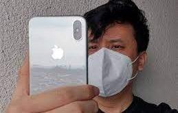 sblocco iphone con mascherina